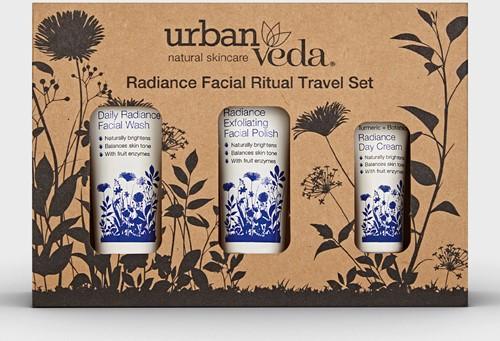 Urban Veda Radiance Facial Ritual Travel Sets