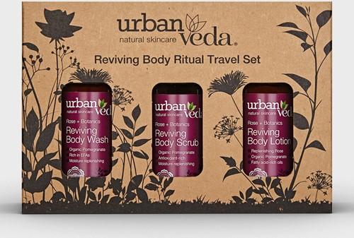 Urban Veda Reviving Body Ritual Travel Set