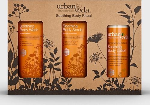 Urban Veda Soothing Body Ritual Set