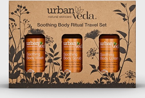 Urban Veda Soothing Body Ritual Travel Set