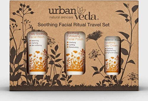 Urban Veda Soothing Facial Ritual Travel Sets