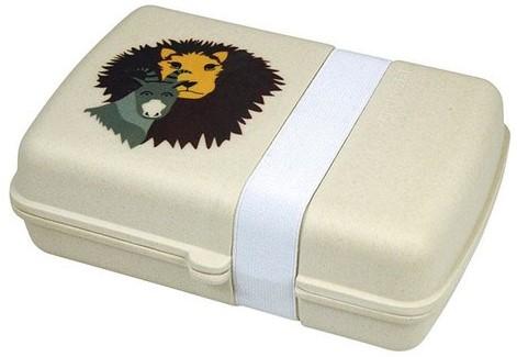 Zuperzozial Ecologische Lunchbox Leeuw