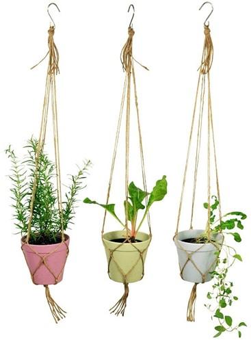 Zuperzozial SPICE IT UP hangende bloempot set van 3